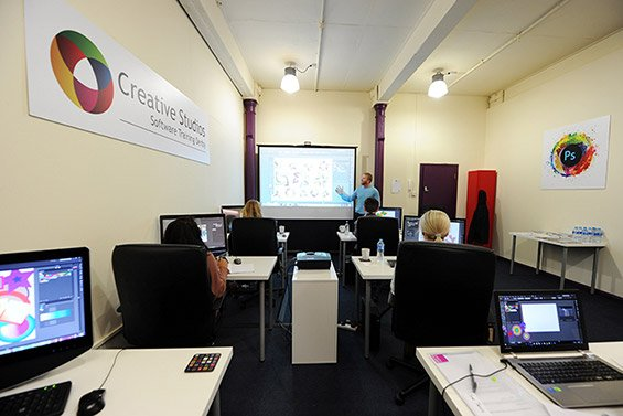 Adobe software training studio midlands