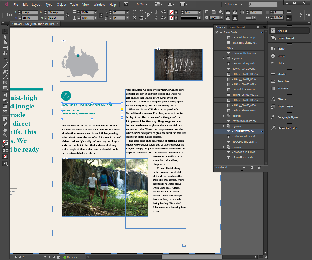 indesign courses