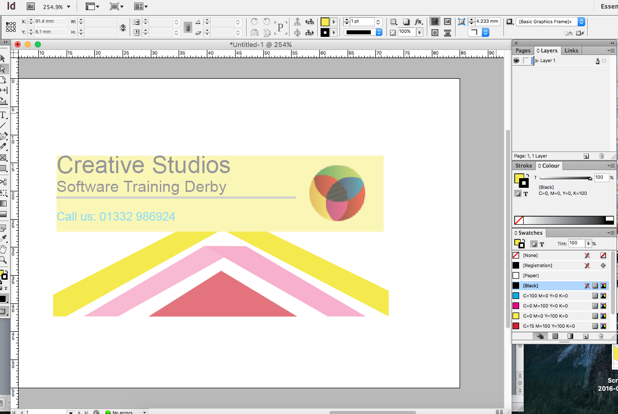 How to Create a Professional Business Card in InDesign - Creative ...