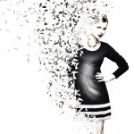 Adobe Illustrator model fashion design