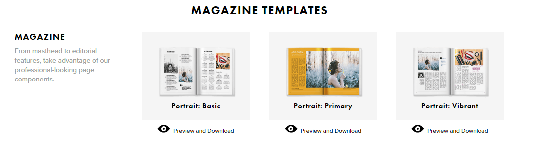 Top 5 FREE InDesign Template Resources
