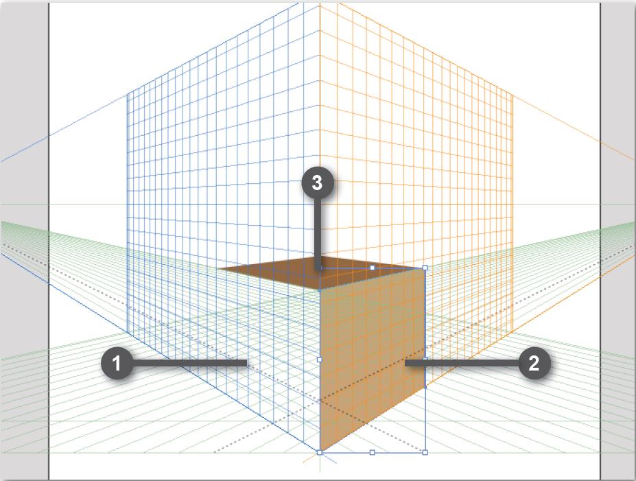 perspective grid example adobe illustrator