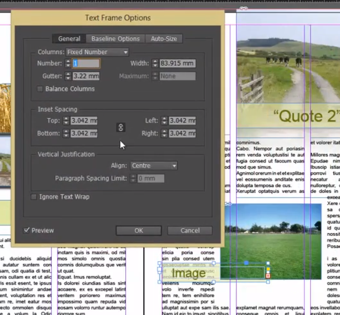 how to make text wrap around image in indesign