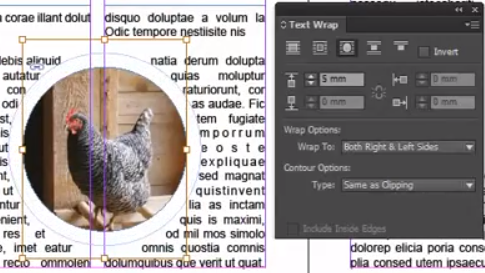 How to Flip/Invert Letters in InDesign