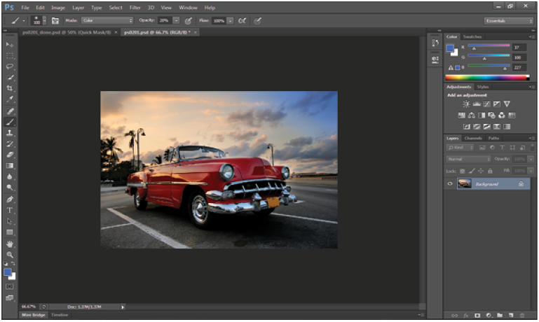 Adobe Photoshop Short Training Course