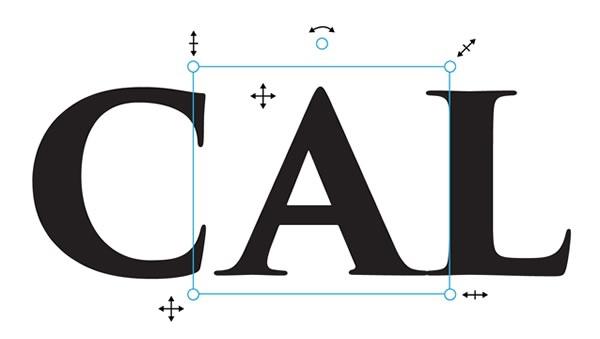 touch type tool adobe illustrator