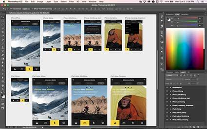 Multiple Artboards in Photoshop CC 2015