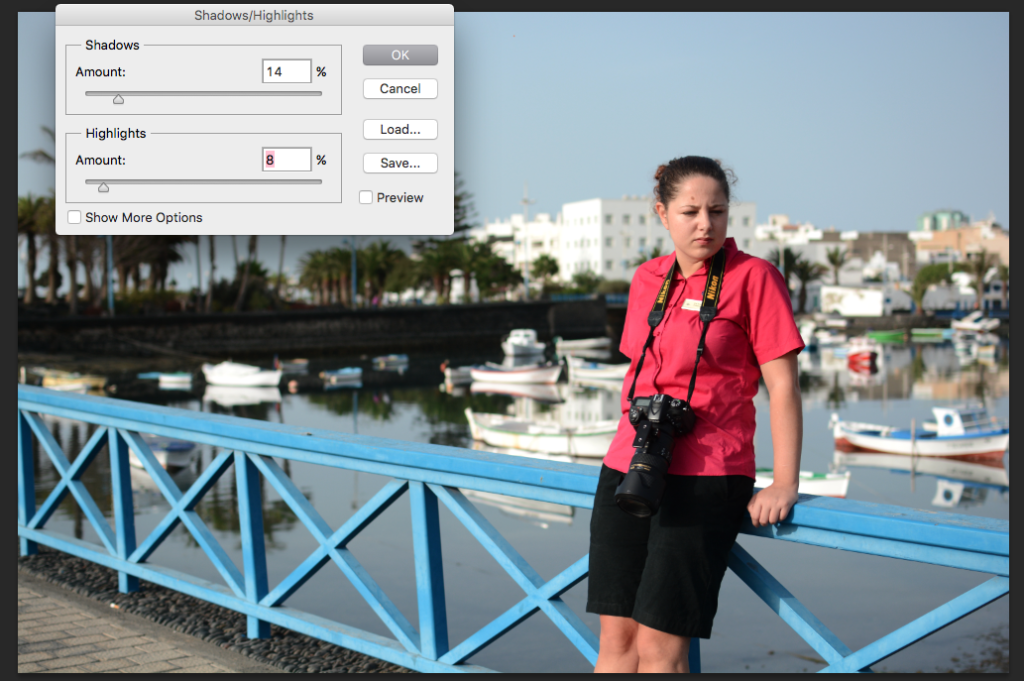 image editing in photoshop
