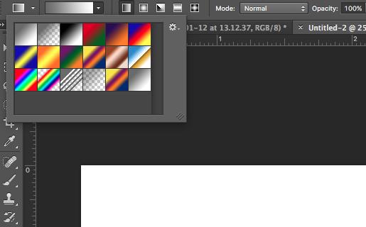 edit gradient mene