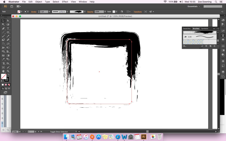 Illustrator Paint Brush Options
