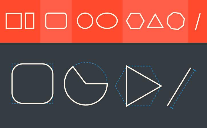 Adobe Illustrator live shapes