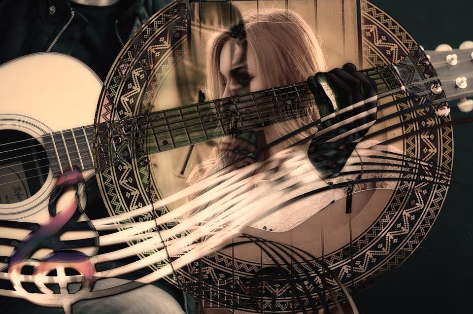 guitar image art photoshop