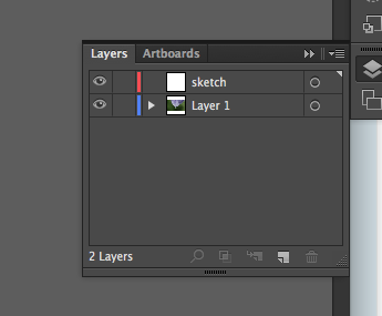 Screenshot of layers