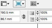 Screenshot of the preview button