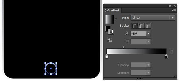 applying a gradient in Adobe Illustrator