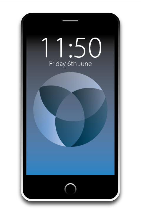 Vector iPhone Adobe Illustrator
