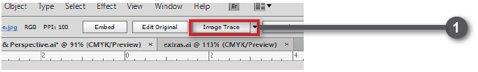 Adobe Illustrator Live Trace