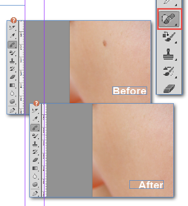 Adobe Photoshop Patch tool