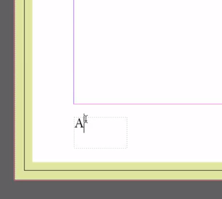 Page number InDesign