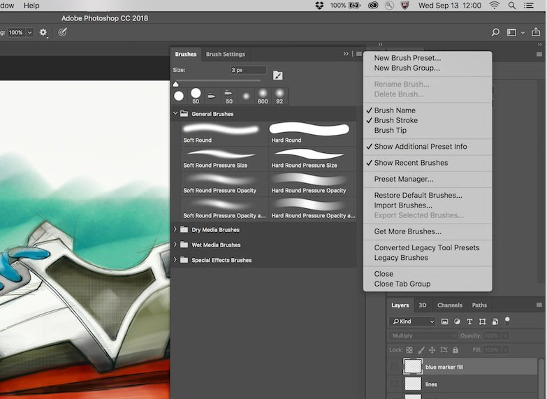 Adobe Photoshop Brush Presets