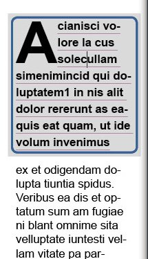 Paragraph borders adobe InDesign