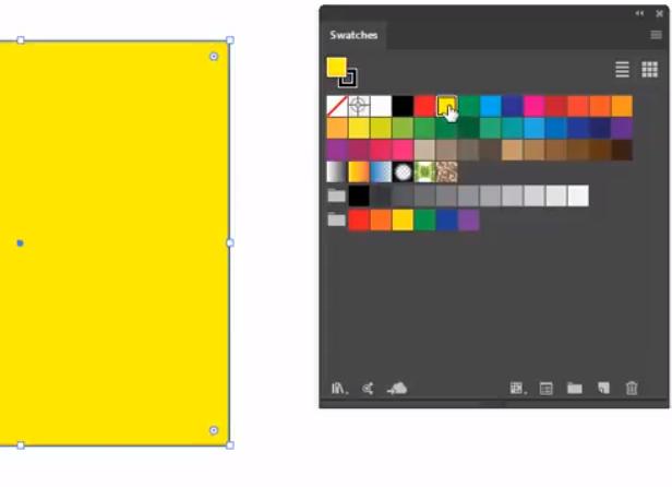 Adobe Illustrator Solid Swatches