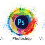 Adobe Photoshop, Illustrator and InDesign