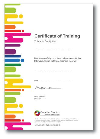 Marketing and communications certificate