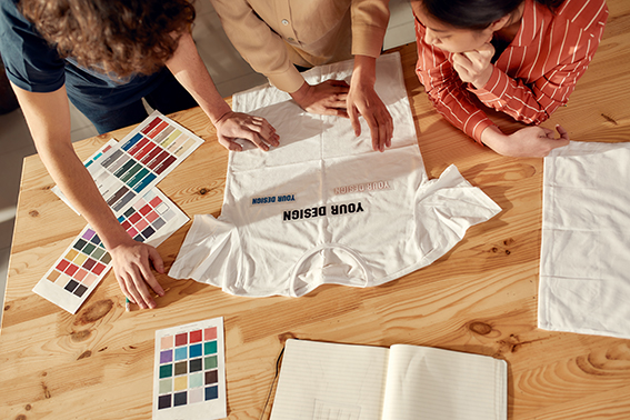 Customised work wear